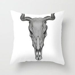 Bos Taurus Throw Pillow