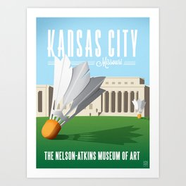 Nelson Art Gallery Art Print