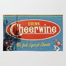 Cheerwine Sign 2 Rug