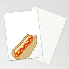 Hot Dog Stationery Cards