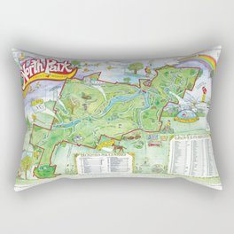 North Park, Allegheny County Rectangular Pillow