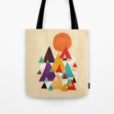 Let's visit the mountains Tote Bag