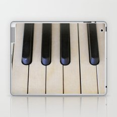 Antique Piano Keys Laptop & iPad Skin