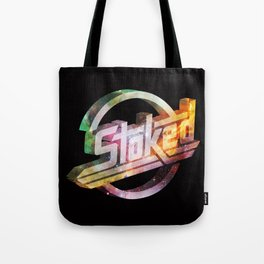 Stoked Cosmos Tote Bag