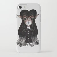 werewolf iPhone & iPod Cases featuring Werewolf by Leah Jade