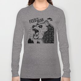 Bears and Mountains Long Sleeve T-shirt