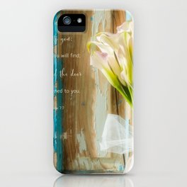 Calla Welcome* iPhone Case