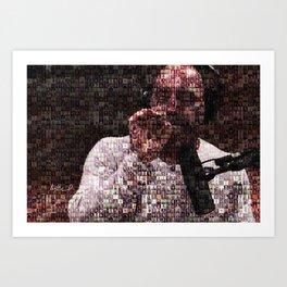 Joe: 365 Guest Mosaic Art Print