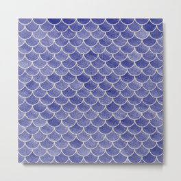 Lovely Pattern IV (Glitter Version) Metal Print