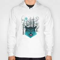 howl Hoodies featuring Howl by Kathryn Hudson Illustrations