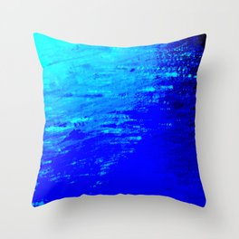 Moon Casting in to the Sea Throw Pillow