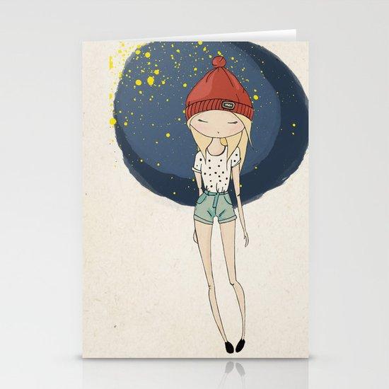 Ange - Fashion illustration Stationery Cards