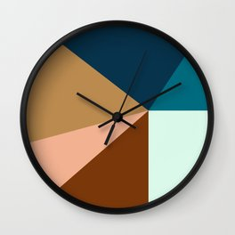 COLOR_IS_ART_01 Wall Clock