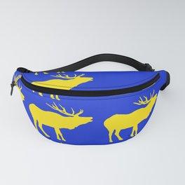Graphic Swedish Elk Flag III Fanny Pack