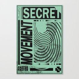 movement Canvas Print