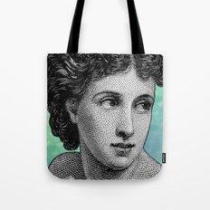 Seductress Blue Tote Bag