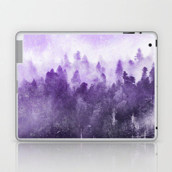Ultra Violet Adventure Forest Laptop & iPad Skin