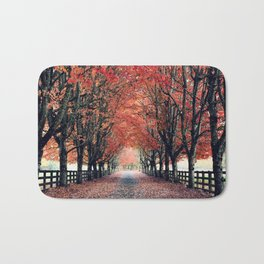 Welcome Home to Fall Bath Mat