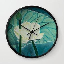 Water dancers Wall Clock