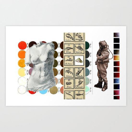 Life Study Art Print