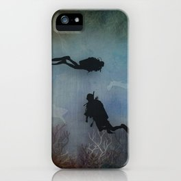 Scuba Divers iPhone Case