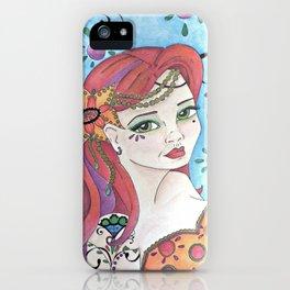 Pinup Mermaid iPhone Case