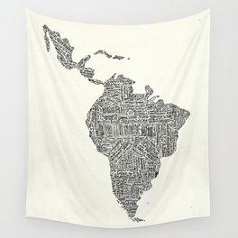 latinoamerica Wall Tapestry