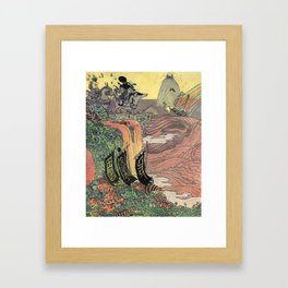 Mu Guai and the Tiger's Eye, Panel 8 Framed Art Print