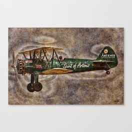104 Boeing A75N-1 Stearman Canvas Print