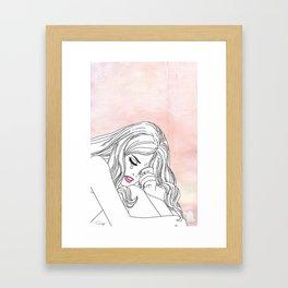 My life is over Framed Art Print
