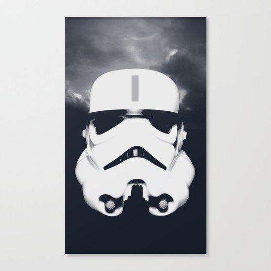Lone Trooper Canvas Print