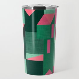 Green Klee houses Travel Mug
