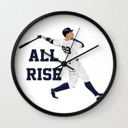 All Rise Wall Clock