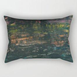 blueblack Rectangular Pillow
