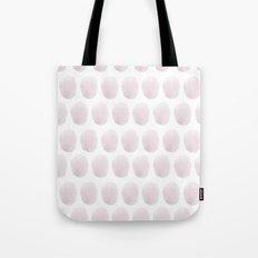 Watercolour polkadot blush Tote Bag
