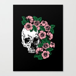 The Flourishing Death Canvas Print