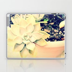 WhiteFlower Laptop & iPad Skin