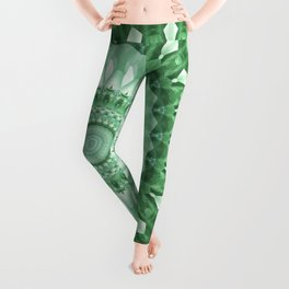 Emerald Green Mandala Leggings