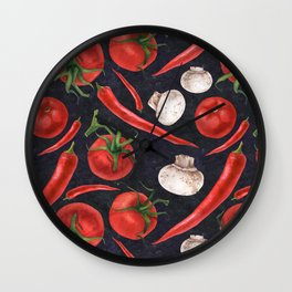 Do you love chili? Wall Clock