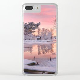 WINTER SCENE-3118/1 Clear iPhone Case