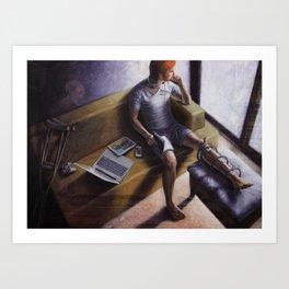 The Wonderer Art Print
