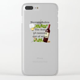 Novinophobia Clear iPhone Case