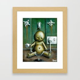 Tyranny Of Self Punishment Framed Art Print