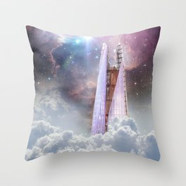 THE SHARD Throw Pillow