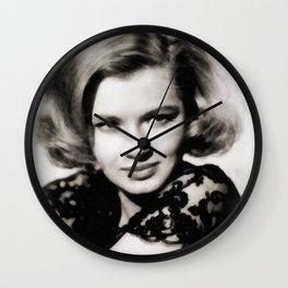 Angie Dickinson, Vintage Actress Wall Clock