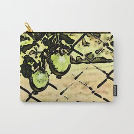 Passion Fruit in green Carry-All Pouch