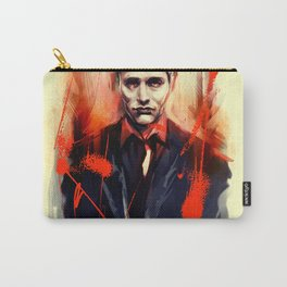 Mads Mikkelsen * Hannibal Lecter Carry-All Pouch