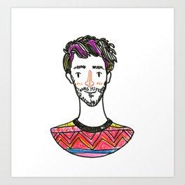 Dani - SuperFriends Collection Art Print