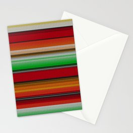 Mexican serape #6 Stationery Cards