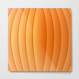 Bland Pumpkin Metal Print